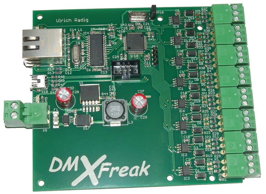 www UlrichRadig de :: Microcontroller and more! - 8 Kanal
