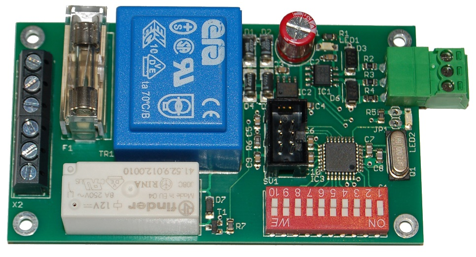 Ulrich Radig, mikrocontroller and more :: DMX RDM Switch