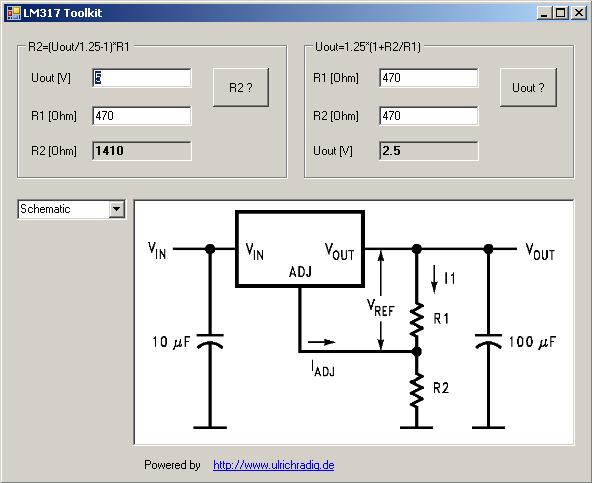 microcontroller and more lm317 calc. Black Bedroom Furniture Sets. Home Design Ideas